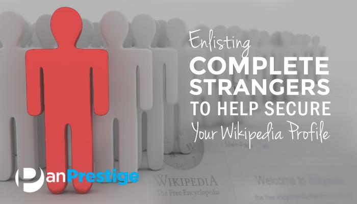 Secure Your Wikipedia Profile